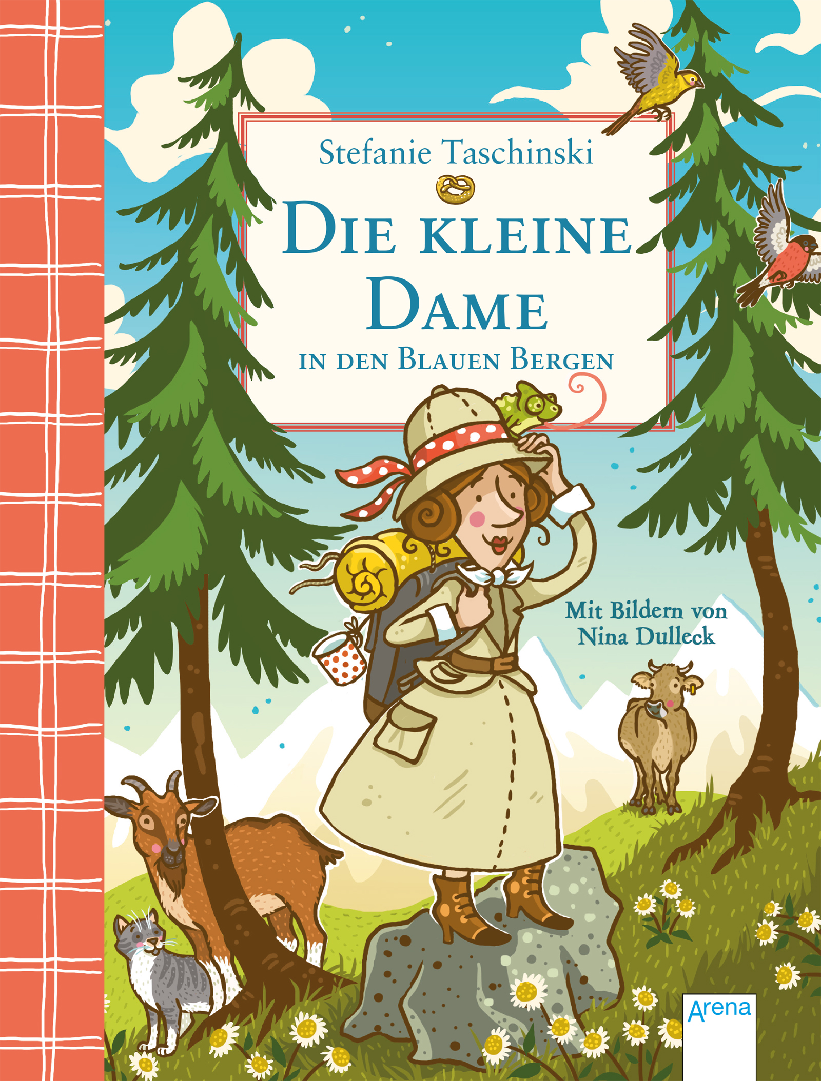 Buchcover, Die kleine Dame in den Blauen Bergen