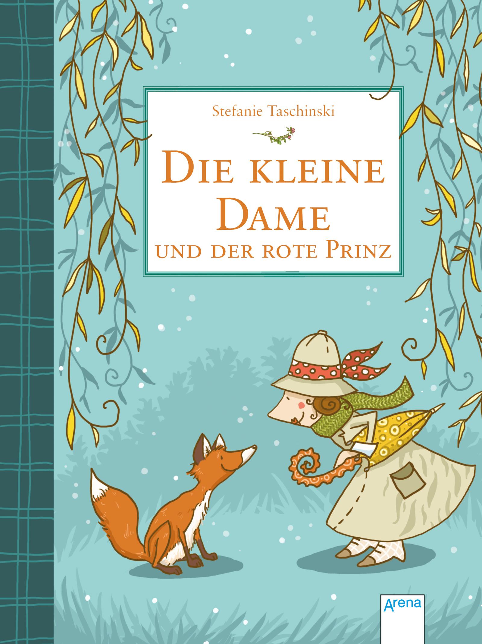 Buchcover, Die kleine Dame und der rote Prinz